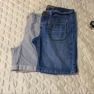 Two pair of Womens shorts